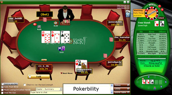 Download  hier Pokerbility