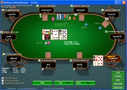 Pokeroffice: Real Time Heads-Up weergave