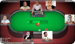 Pokertafel van Pokerview