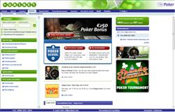 Unibet Poker Homepage